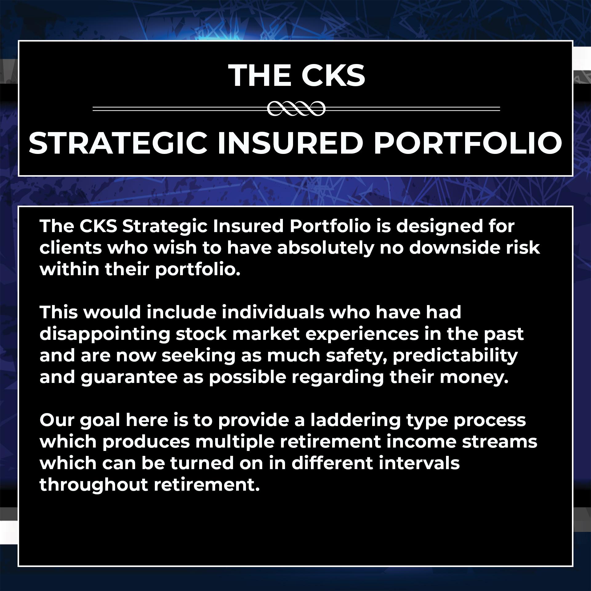 strategic insured portfolio