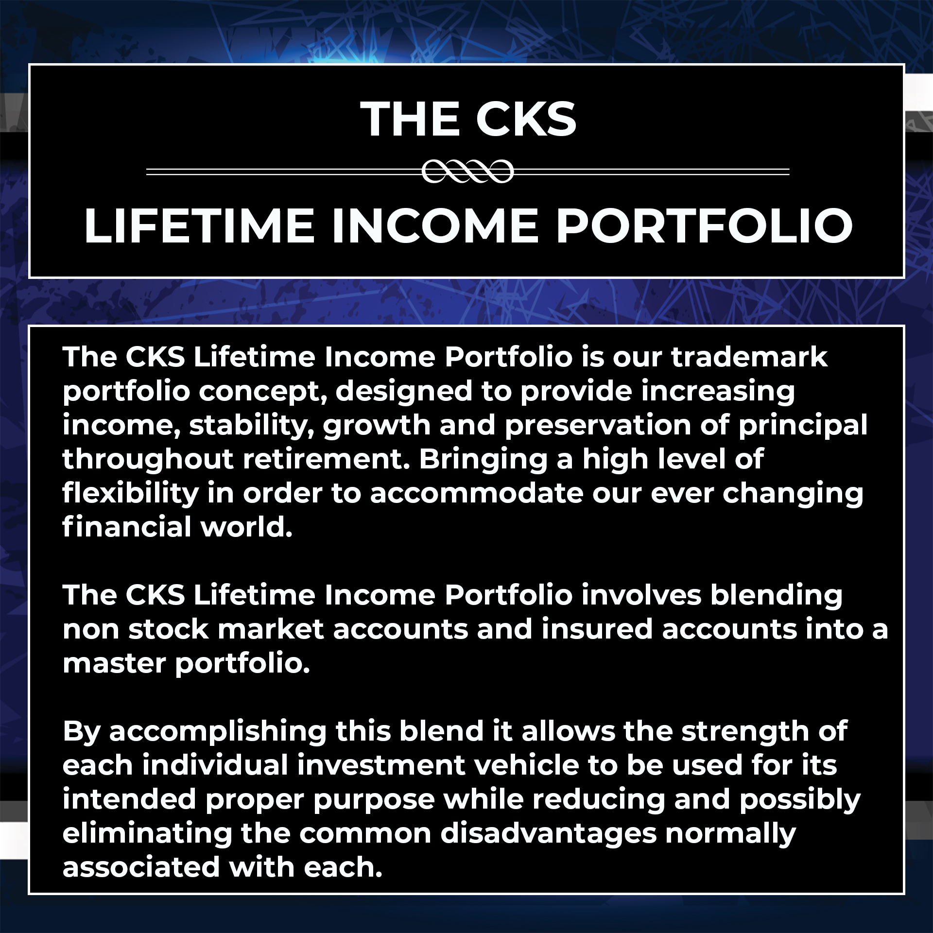lifetime income portfolio