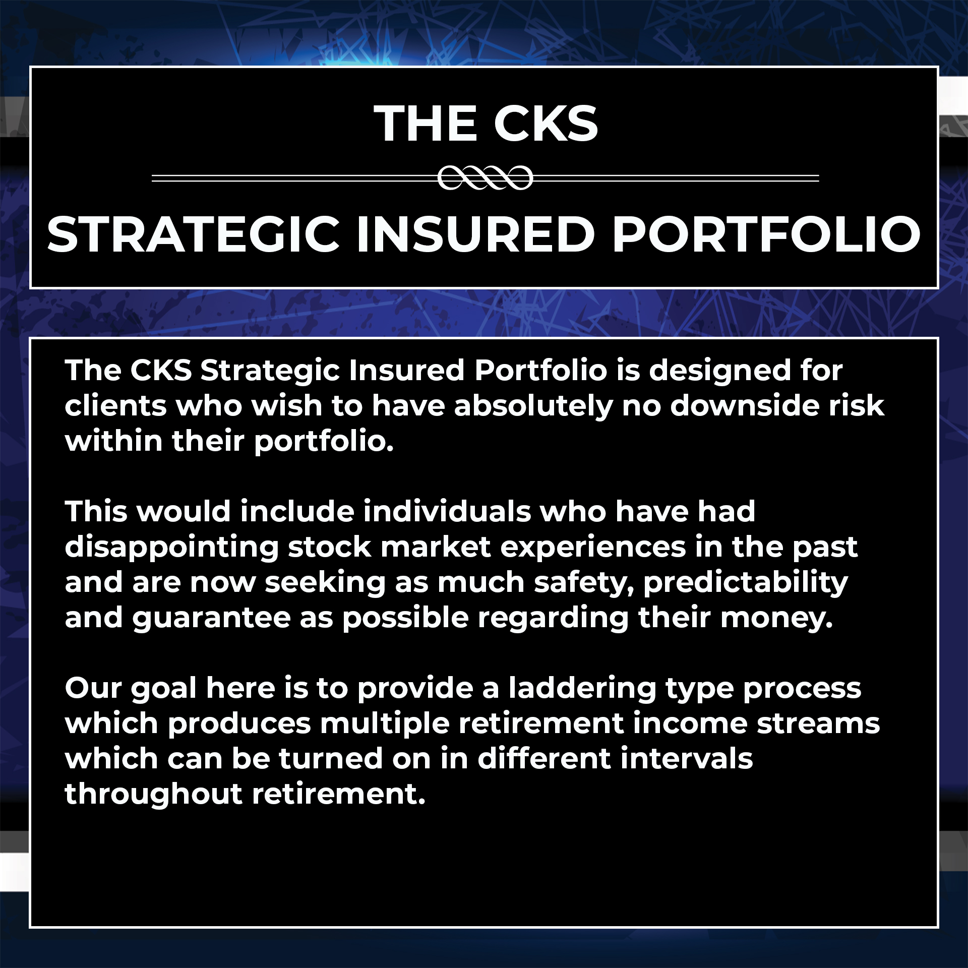 strategic insured portfolio