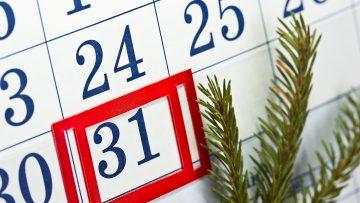 Year End Retirement Checklist
