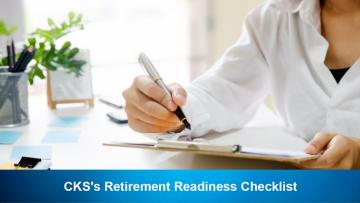 CKS's Retirement Readiness Checklist
