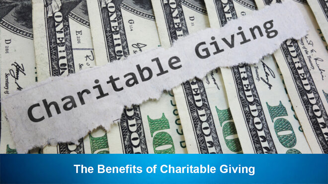 The Benefits of Charitable Giving